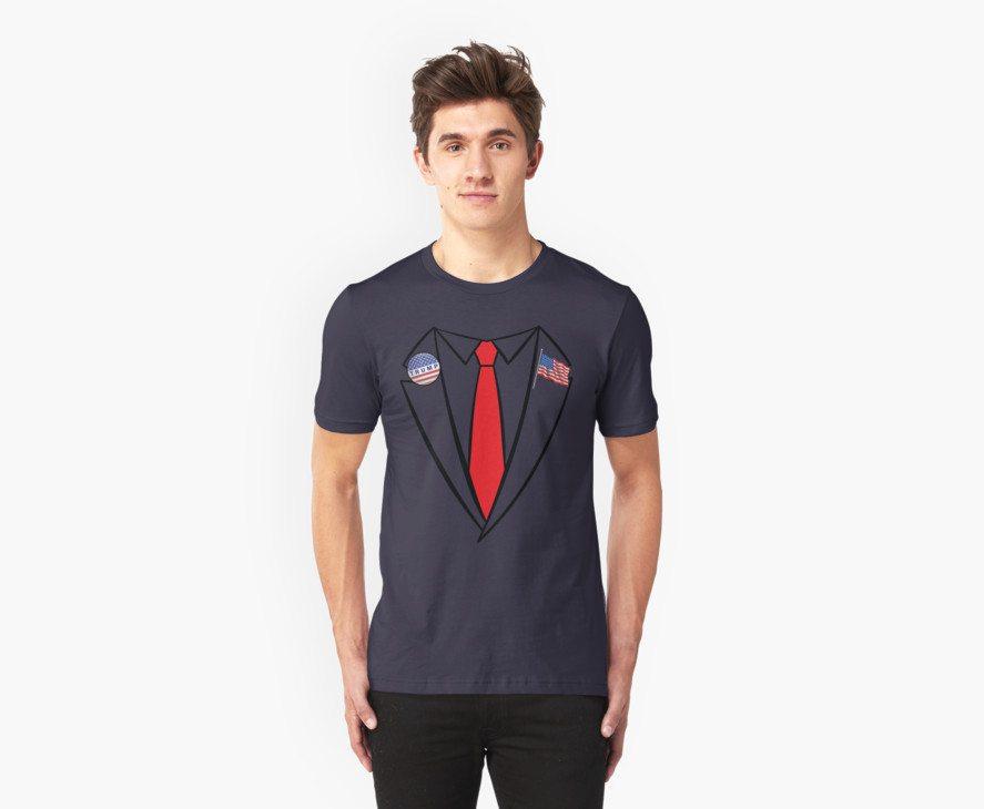 Donald Trump Suit and Tie Halloween Costume