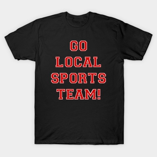 Go Sports! – Red T-Shirt