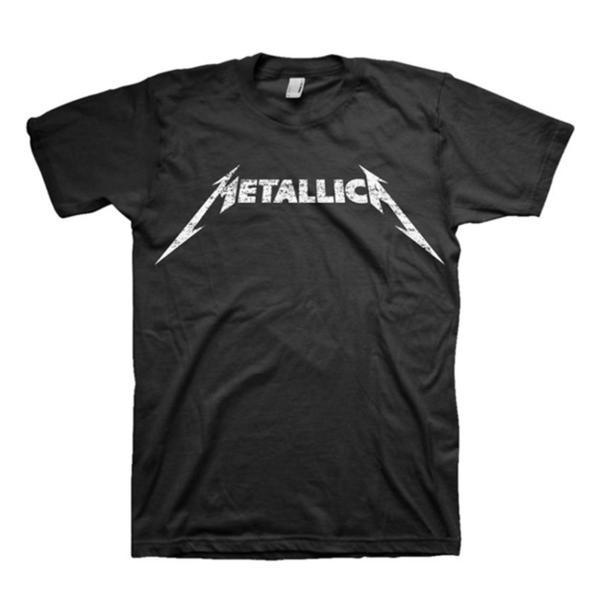 Metallica Logo T-Shirt