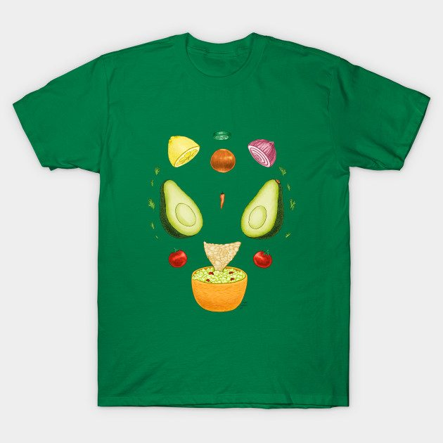 Avocado Diagram T-Shirt