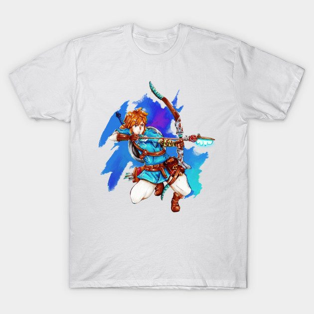 Breath of the Colors – The Legend of Zelda Breath of the Wild T-Shirt