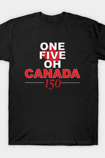 Canada 150 – Black T-Shirt