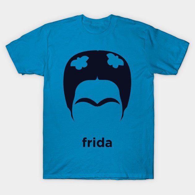 Frida Kahlo (Hirsute History) T-Shirt