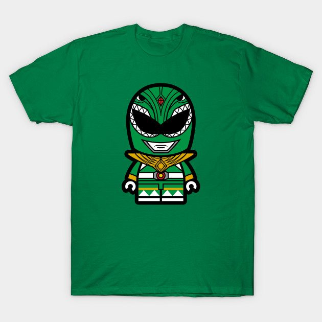 Green Power Chibi Ranger T-Shirt
