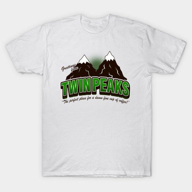 Greeti. Twin Peaks (V2) – Heather T-Shirt