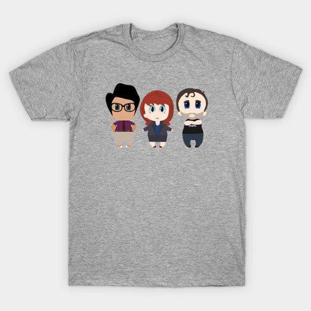IT Crowd Chibis T-Shirt