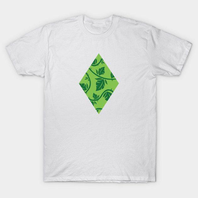 Leaf Diamond – Green T-Shirt