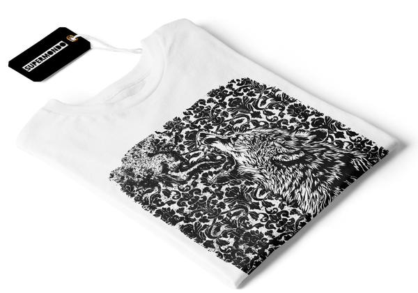 Old Wolf Paper T-Shirt