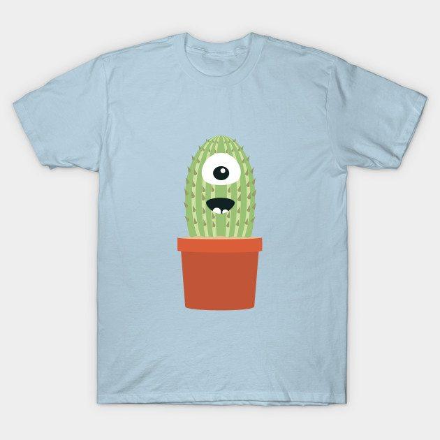 One eyed cactus T-Shirt