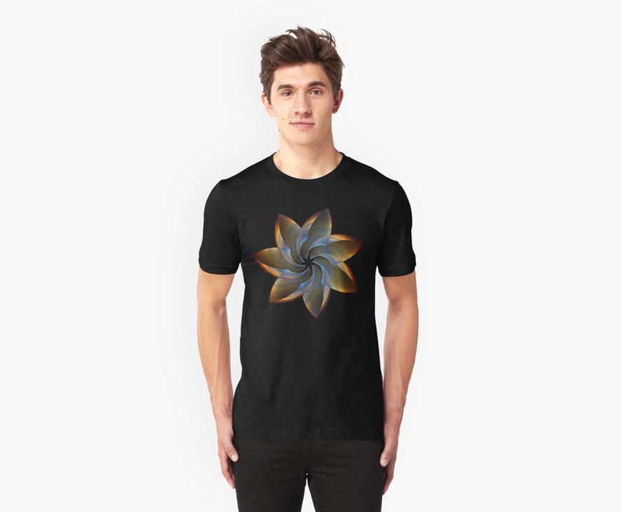 Prismatic Geometrical Flower