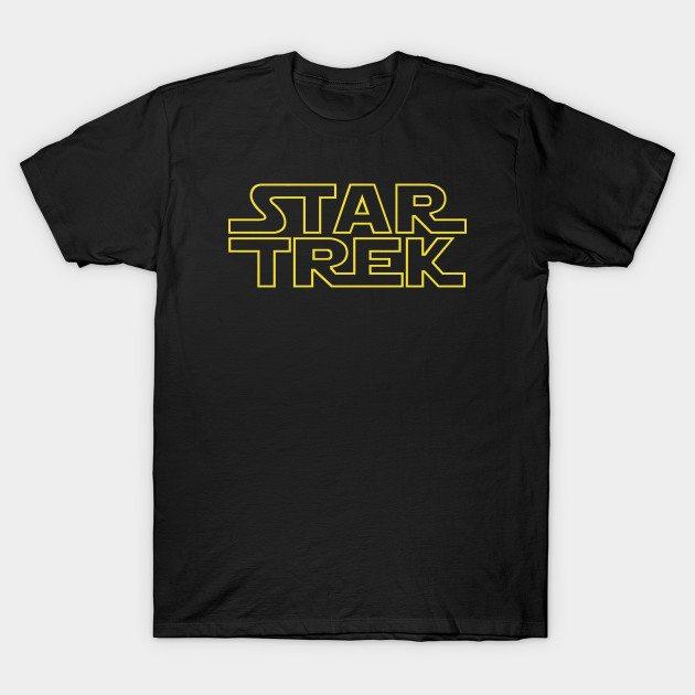Star Trek, Star Wars… whatever! T-Shirt