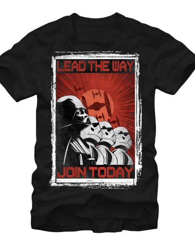 Star Wars – Lead The Way Adult Regular Fit T-Shirt