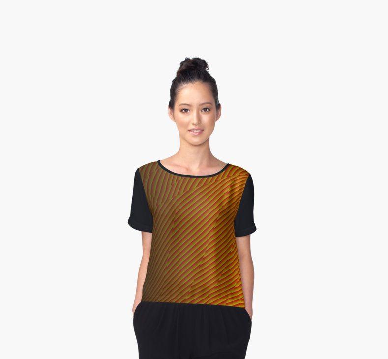 Textured Orange Pattern