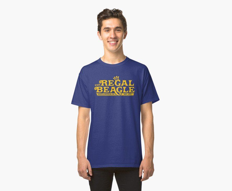 The Regal Beagle – Three's Company T-Shirt
