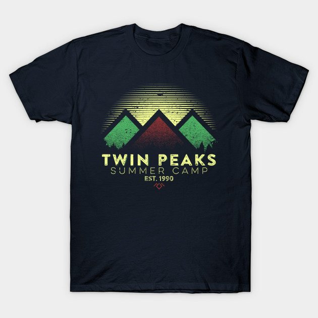 Twin Peaks Summer Camp T-Shirt
