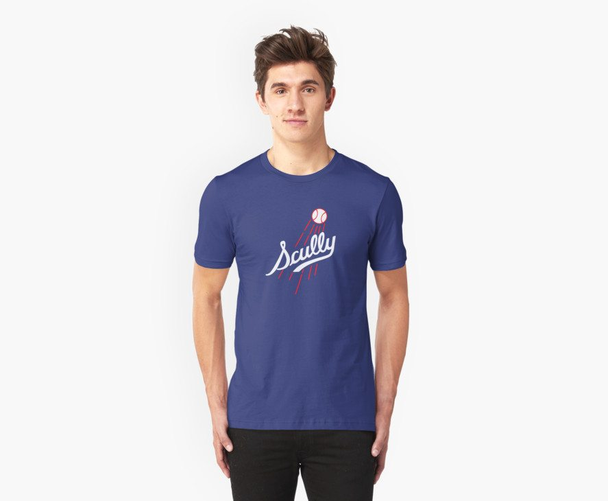 Vin Scully – Los Angeles Dodgers Style Logo