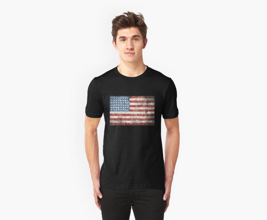 Vintage-Style US Flag