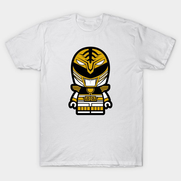 White Power Chibi Ranger T-Shirt