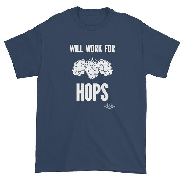 will work for hops – white text