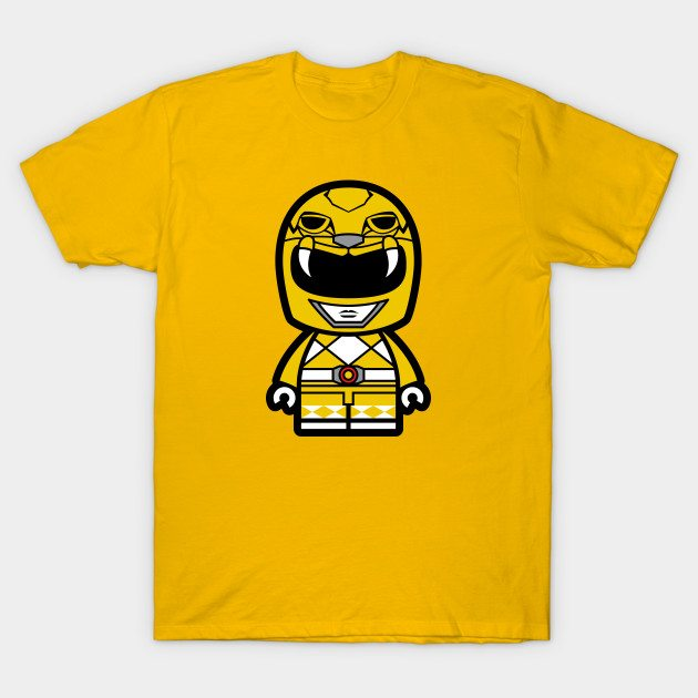 Yellow Power Chibi Ranger T-Shirt