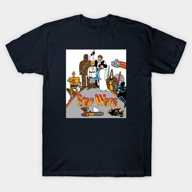 Yellow Tatooine T-Shirt