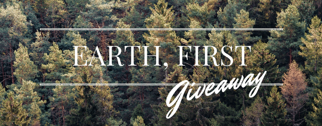 Earth, First Giveaway: Design by Humans Plants Trees