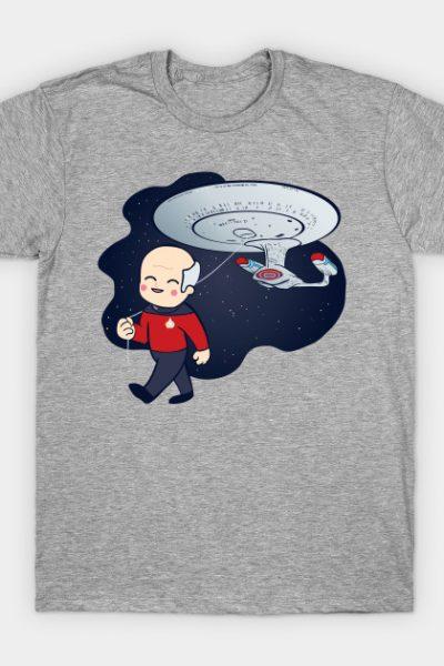Cute Star Trek Picard Balloon T-Shirt