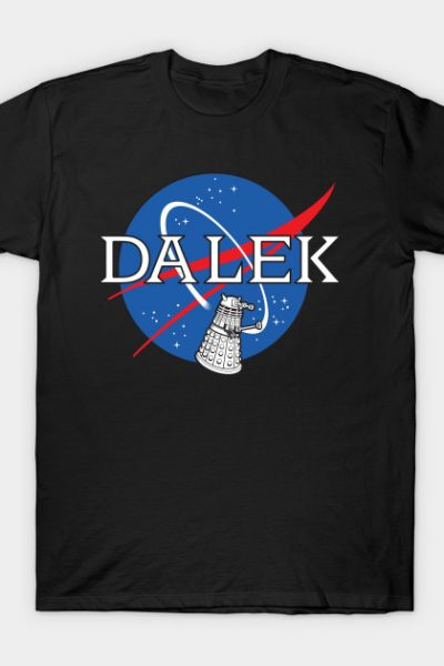 Dalek Nasa T-Shirt