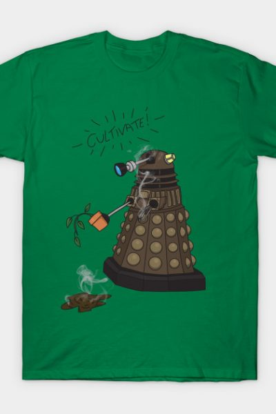 Dalek Retrement – Dr Who's Orders | CULTIVATE T-Shirt