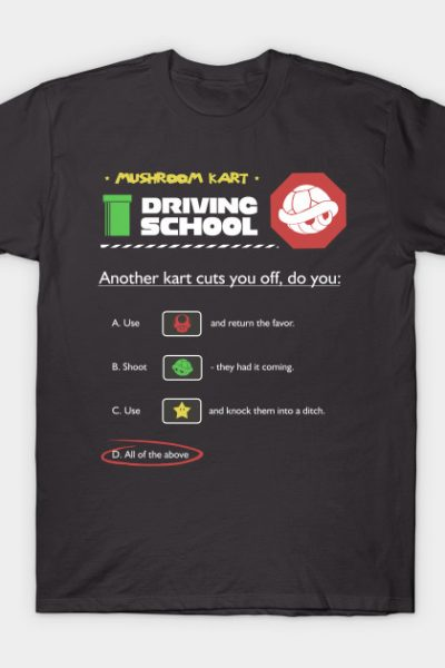 Driving School T-Shirt