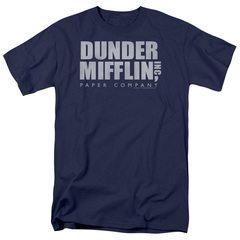 Dunder Mifflin Distressed The Office Logo T-Shirt