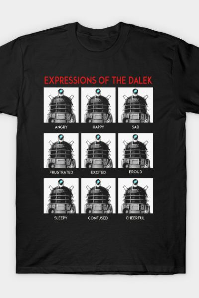 Expressions Of The Dalek T-Shirt