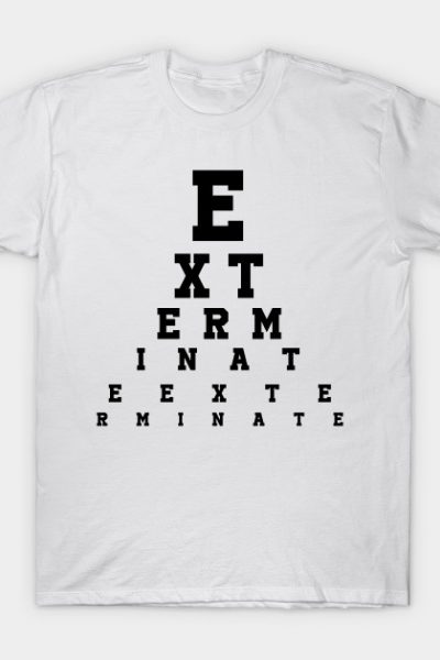 Exterminate! Dalek T-Shirt