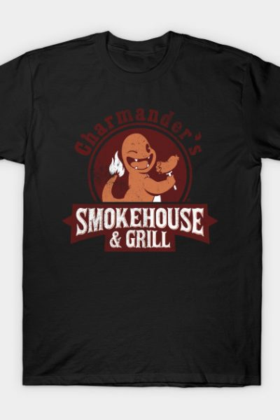 Fire Type BBQ T-Shirt