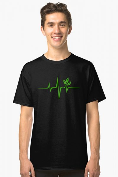 Heartbeat, Pulse Green, Vegan, Frequency, Wave, Earth, Planet