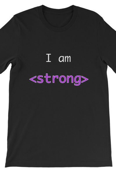 I am Strong | Thesitcompost.com