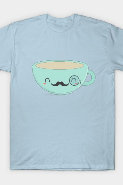 Kawaii Fancy Tea T-Shirt T-Shirt