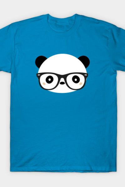 Kawaii Panda Geek T-Shirt T-Shirt
