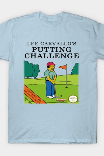 Lee Carvallo's Putting Challenge T-Shirt