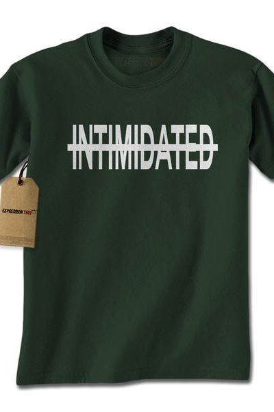 Not Intimidated Mens T-shirt