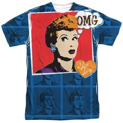 OMG I Love Lucy Sublimation T-Shirt
