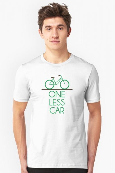 One Less Car Earth Friendly Bicycle