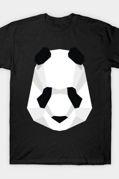 Panda geometric T-Shirt