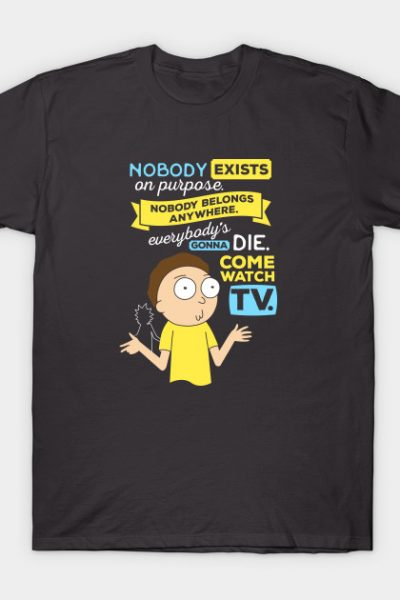 Rick and Morty Nobody Exists on Purpose