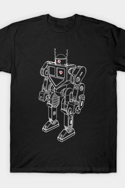 Robot Love – white T-Shirt