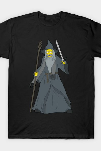 Simpsonized Gandalf T-Shirt
