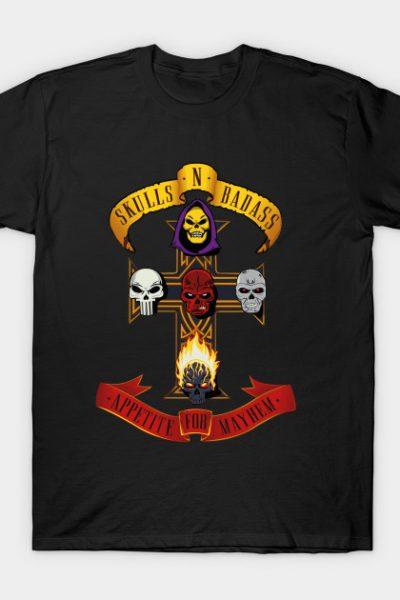 Skulls and Badass T-Shirt