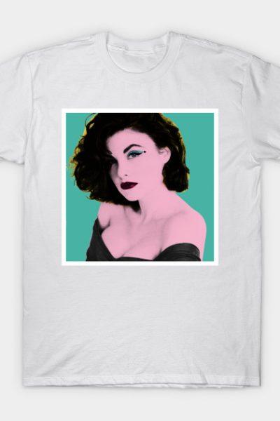 Twin Peaks Audrey Horne Pop Art T-Shirt