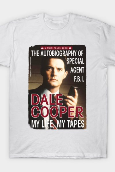 Twin Peaks Dale Cooper Book T-Shirt