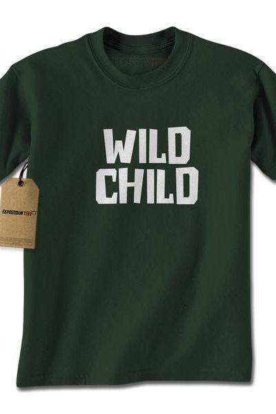 Wild Child Mens T-shirt